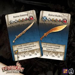 Bone Sword and Bone Kukri