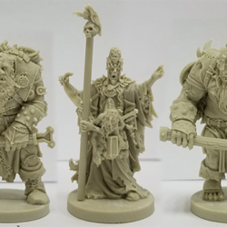 Lord of Skulls, Doom, and Gloom Resins