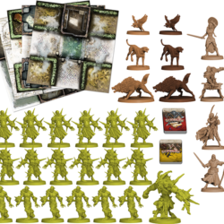Zombicide: Green Horde Friends and Foes Expansion Contents