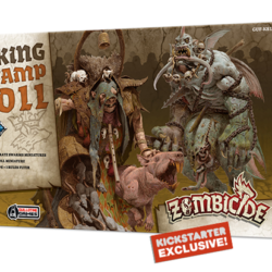 Zombicide: Green Horde Kickstarter Exclusive Rat King & Swamp Troll