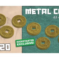 Rising Sun Kickstarter Exclusive Metal Coins