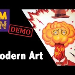 CMON Expo 2017 Modern Art Dice Tower Demo