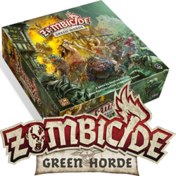 Zombicide Green Horde Box and Logo