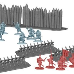 3D Renders of the Palisades and Stakes