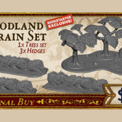 Song of Ice & Fire Woodland Terrain Set