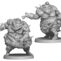 Zombicide Green Horde Kickstarter Exclusive Fatty Bursters