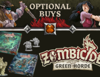 Zombicide: Green Horde Kickstarter Optional Buys