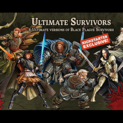 Zombicide: Green Horde Ultimate Survivors Box