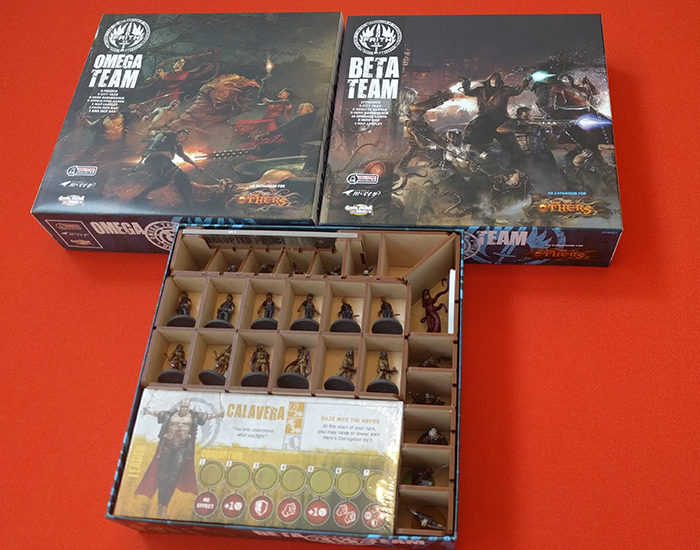 The Others: 7 Sins Team Box Organizer by Go7Gaming
