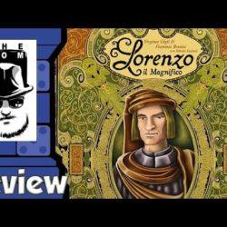Dice Tower – Lorenzo il Magnifico Review
