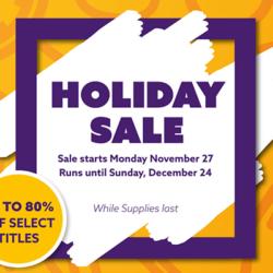 CMON Holiday Sale 2017