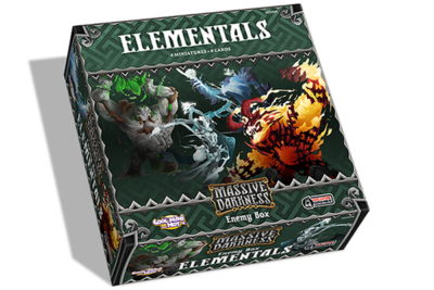 Massive Darkness Enemy Box: Elementals